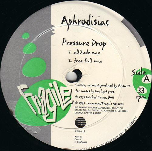 Aphrodisiac – Pressure Drop [FRG-11]