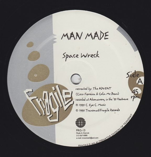 Man Made – Space Wreck / Industry [FRG-13]