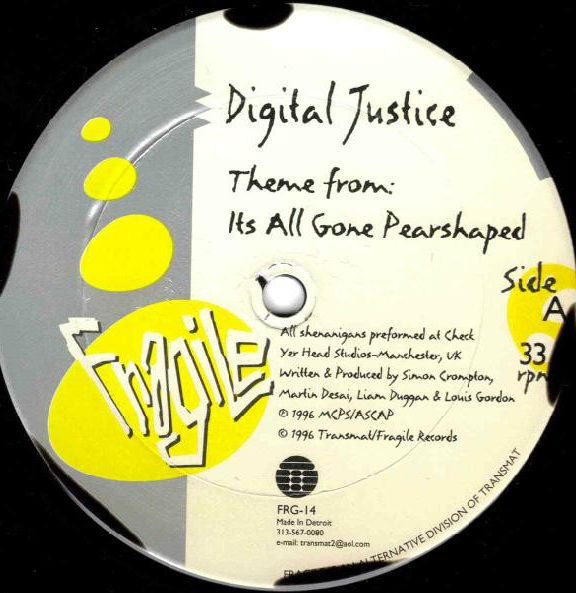 Digital Justice – Theme from it's all gone pear-shaped [FRG-14]