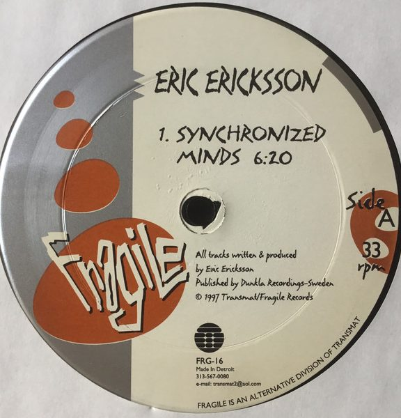 Eric Ericksson – Synchronized Minds [FRG-16]