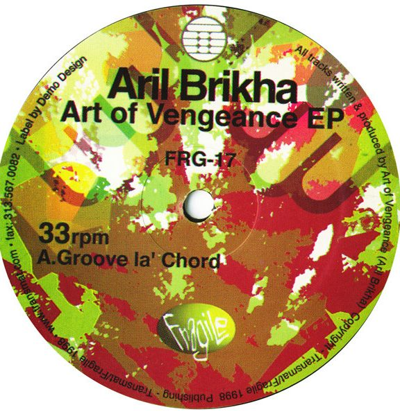 Aril Brikha – Art of Vengeance [FRG17]