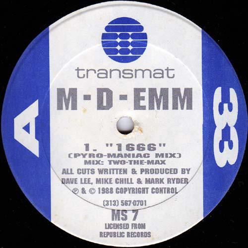 M-D-Emm – 1666 / Get Acidic [MS007]
