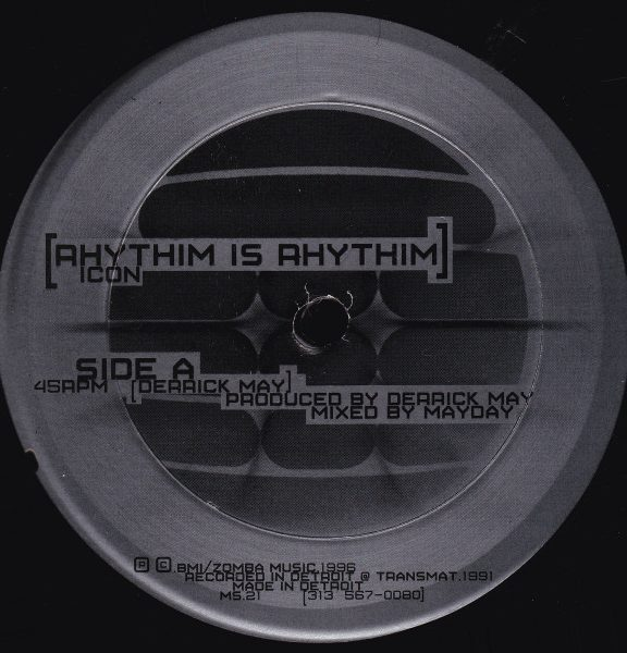 Rhythim Is Rhythim – Icon/ Kao-Tic Harmony [MS021]
