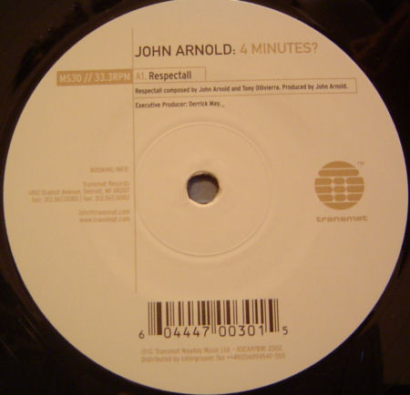 John Arnold – 4 Minutes [MS030]