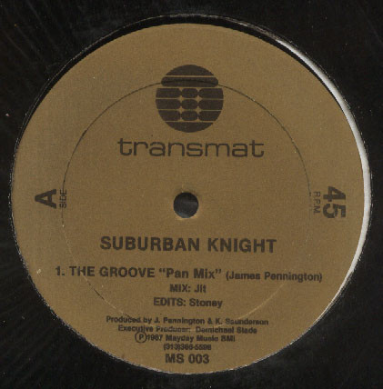 Suburban Knight – The Groove [MS003]