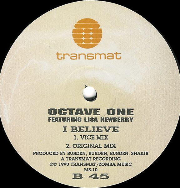 Octave One Featuring Lisa Newberry – I Believe [MS010]