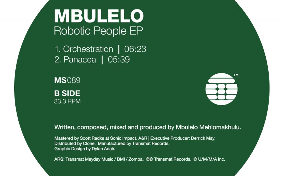 Mbulelo – The Robotic People EP [MS089]